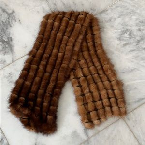 Accessories - Genuine mink scarf/shawl